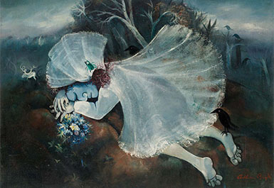 Arthur Boyd, Sleeping bride 1957-58
