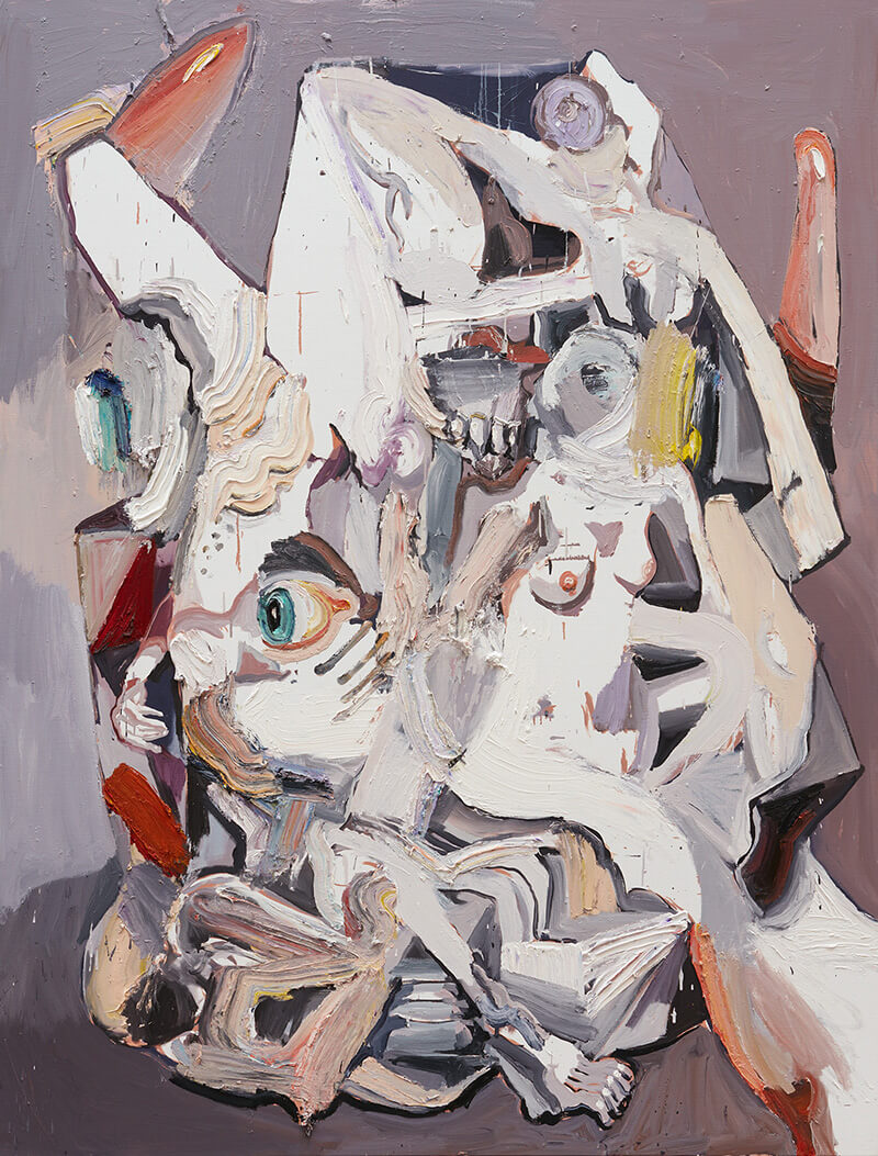 Ben Quilty, The Last Supper no.9 2017