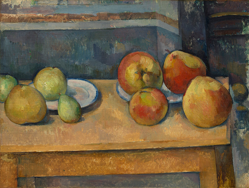 Paul Cézanne / Still Life with Apples and Pears c.1891–92 / Oil on canvas / 44.8 x 58.7cm / Bequest of Stephen C Clark 1960 / 61.101.3 / Collection: The Metropolitan Museum of Art