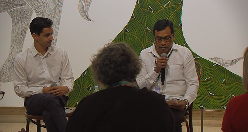 Venkat Raman Singh Shyam discusses his work
