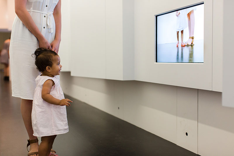 Angela Tiatia invites children to explore ideas of representation and perception in Kids APT8