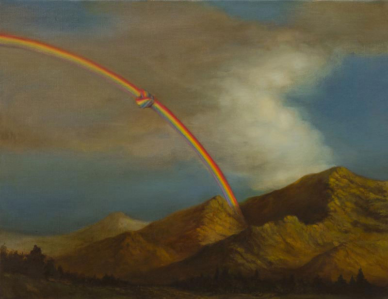 CHEN CHING-YUAN, Knotted rainbow 2013