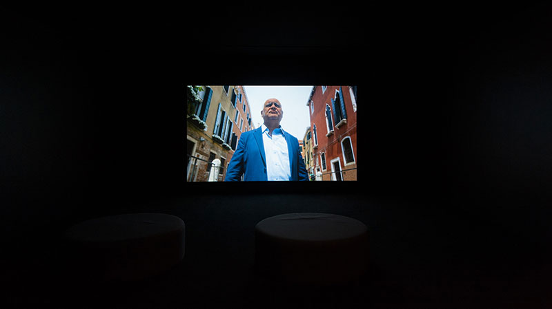 Richard Bell's Larry 2015 installed at APT8