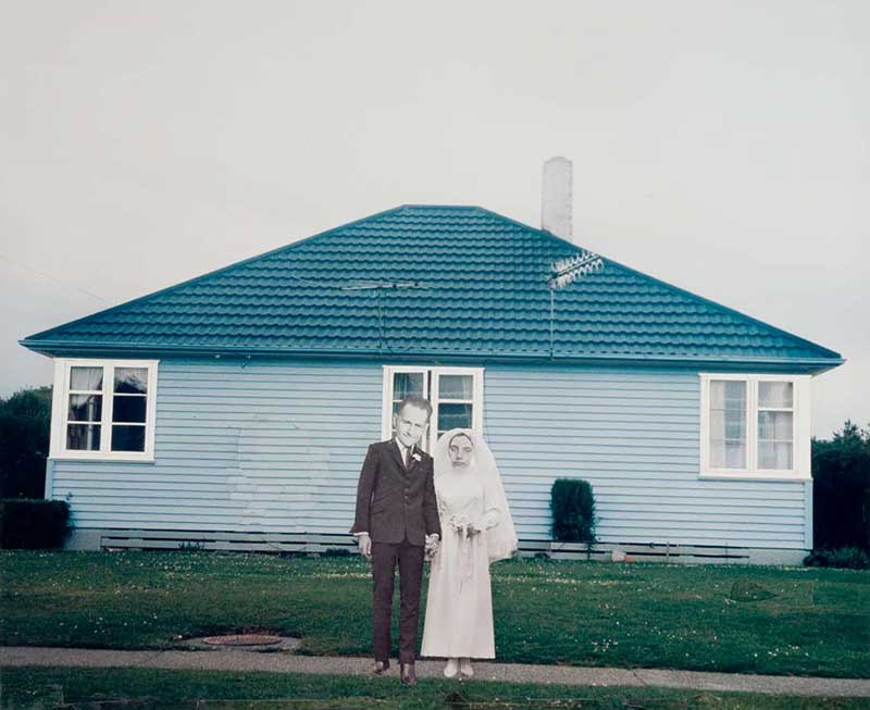 Ava Seymour, New Zealand b.1967 / White wedding Invercargill (from 'Health, happiness and housing' series) 1997, printed 2007