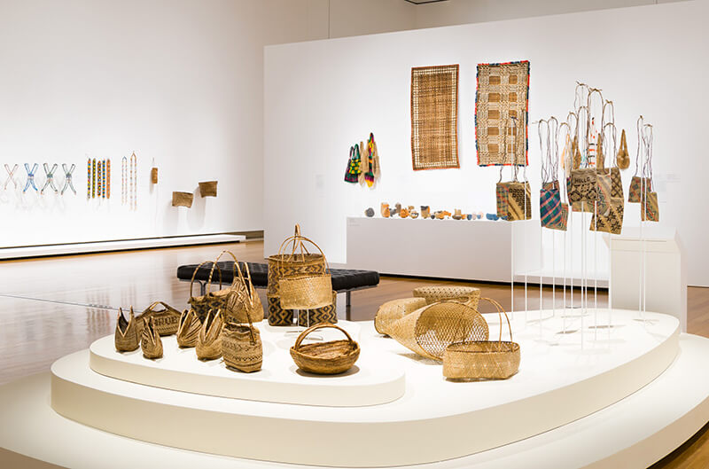 Installation view of Women's Wealth
