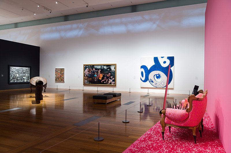 Installation view of Reality & Invention