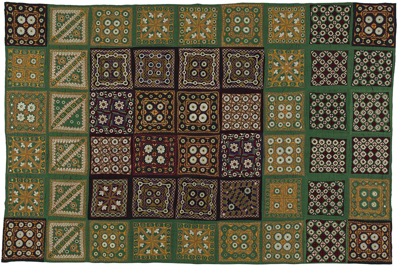 Pakko embroidery quilt, Marvada Meghval Community