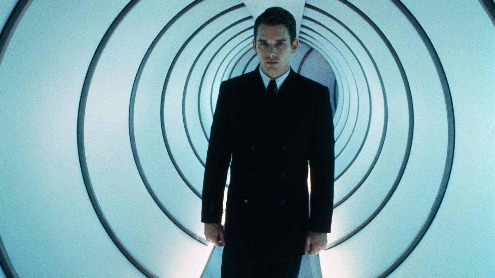 gattaca a film by andrew niccol Directed by andrew niccol with ethan hawke, uma thurman, jude law, gore vidal a genetically inferior man assumes the identity of a superior one in order to pursue his lifelong dream of space travel.