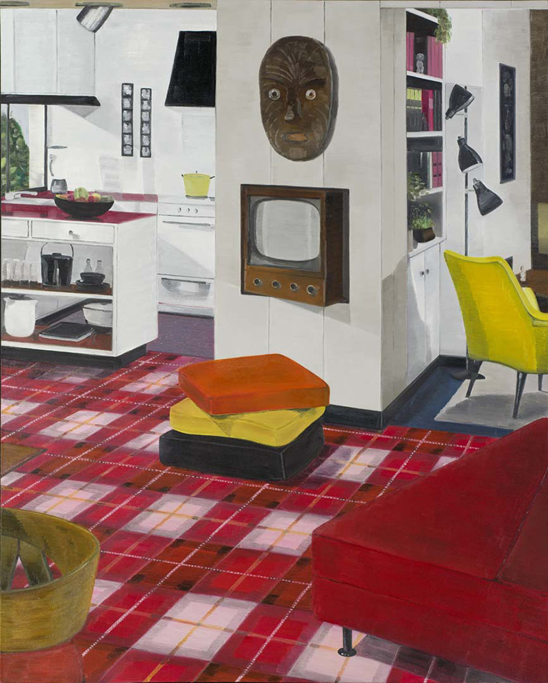 Graham Fletcher Untitled (from 'Lounge Room Tribalism' series)