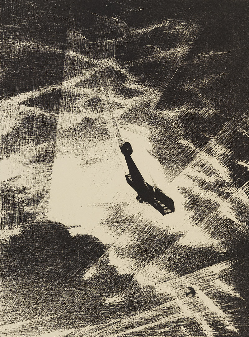 Christopher Nevinson Swooping down on a Taube