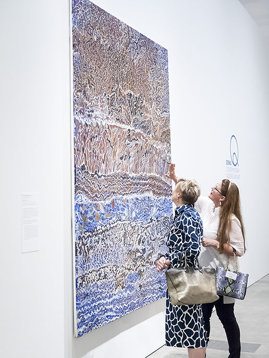 Contemporary Patrons Private Tour of GOMA Q and Dinner, Sep 2015
