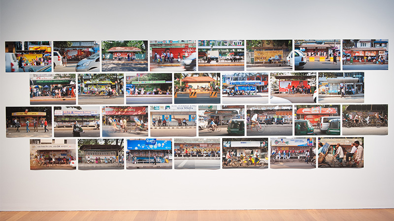 Po Po , Myanmar, b.1957 / VIP Project (Yangon/Dhaka) 2010–15 / Mixed media installation / VIP Project (Dhaka) commissioned and produced by the Samdani Art Foundation for Dhaka Art Summit 2016 / Courtesy and ©: The artist