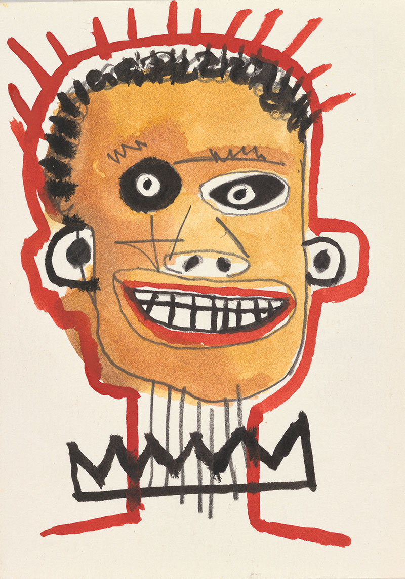 Gordon Bennett , Australia 1955-2014 / After Basquiat 1993