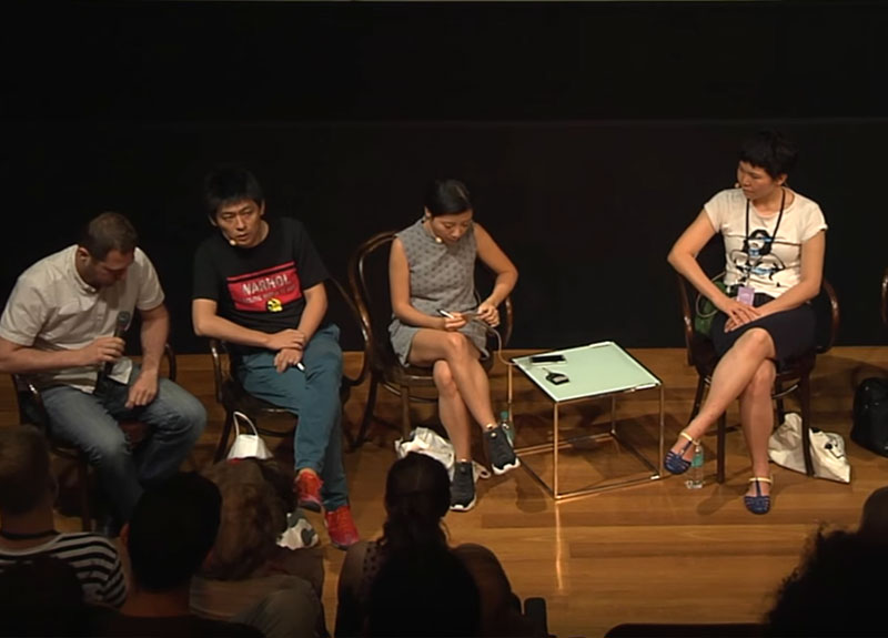 In this panel discussion exploring themes of politics and representation in APT8, join artists Sharon Chin, Liu Ding, Janenne Eaton and Taloi Havini